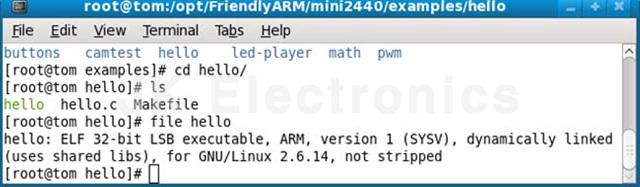 S3C6410 Start Kit Linux 콘솔 어플리케이션 Developer Guide